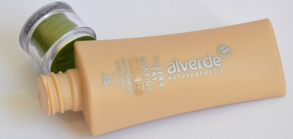 alverde cover and stay make-up 10 cashmere