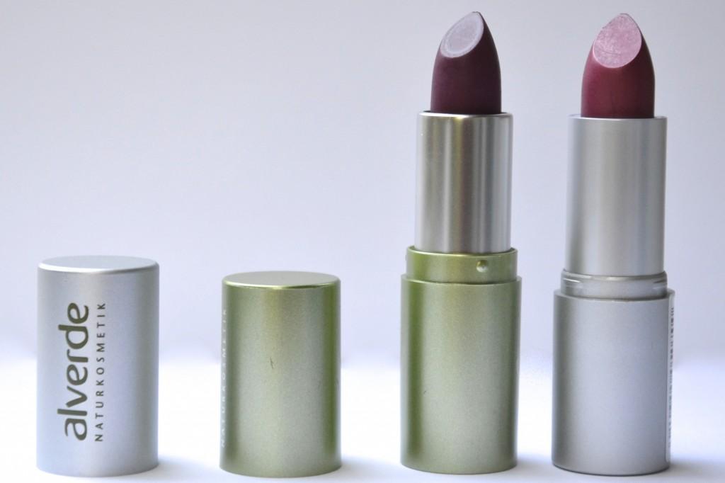 alverde neue Lippenstifte oktober 2014