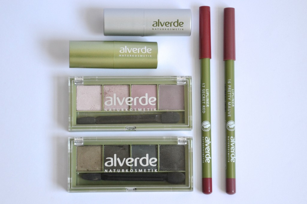 alverde trent make-up