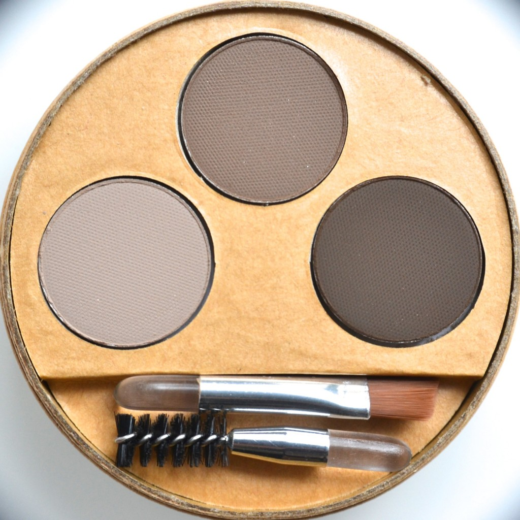 Eyebrow kit couleur caramel