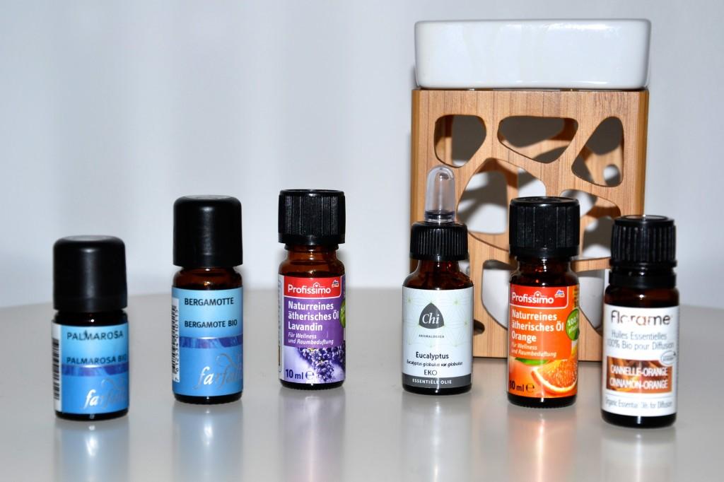 aromatherapie ätherische Öle