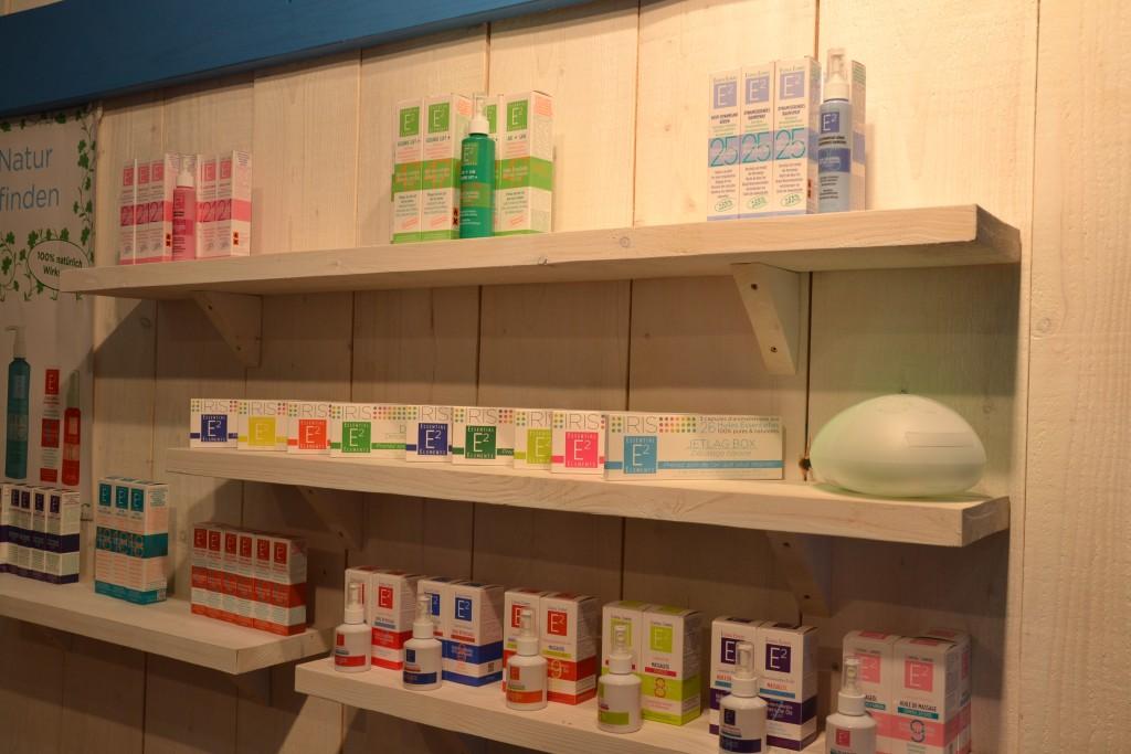Das Sortiment der Aromotherapie Kosmetik und Produkte von Elements