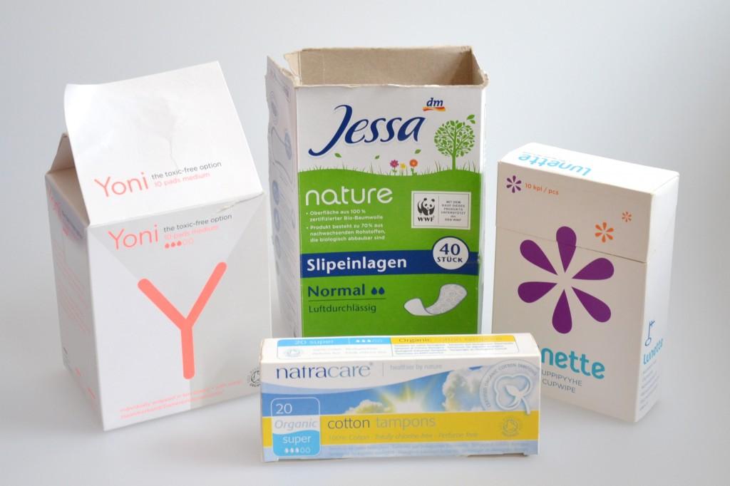 Monatshygiene ohne Schadstoffe -  2