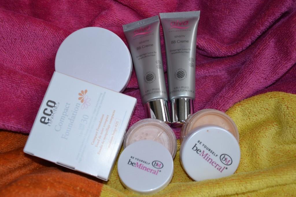 Sonnenschutz make-up