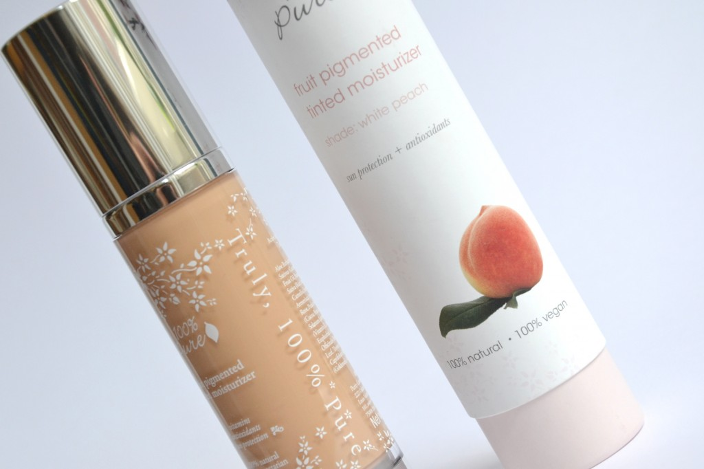 100 percent pure tinted moisturizer
