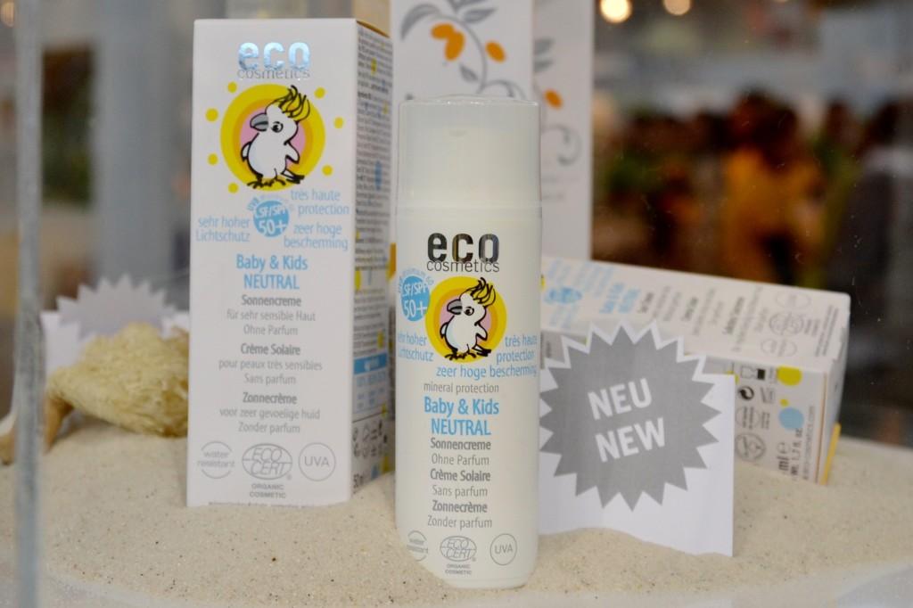 Eco Cosmetics  sonnenschutz für kinder