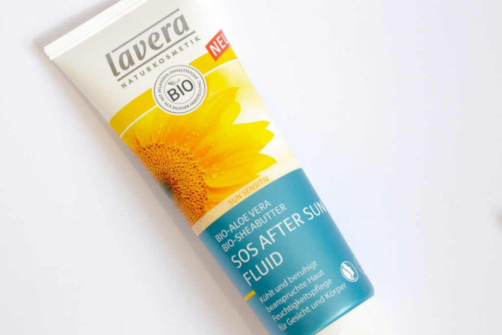 Lavera SOS after sun fluid