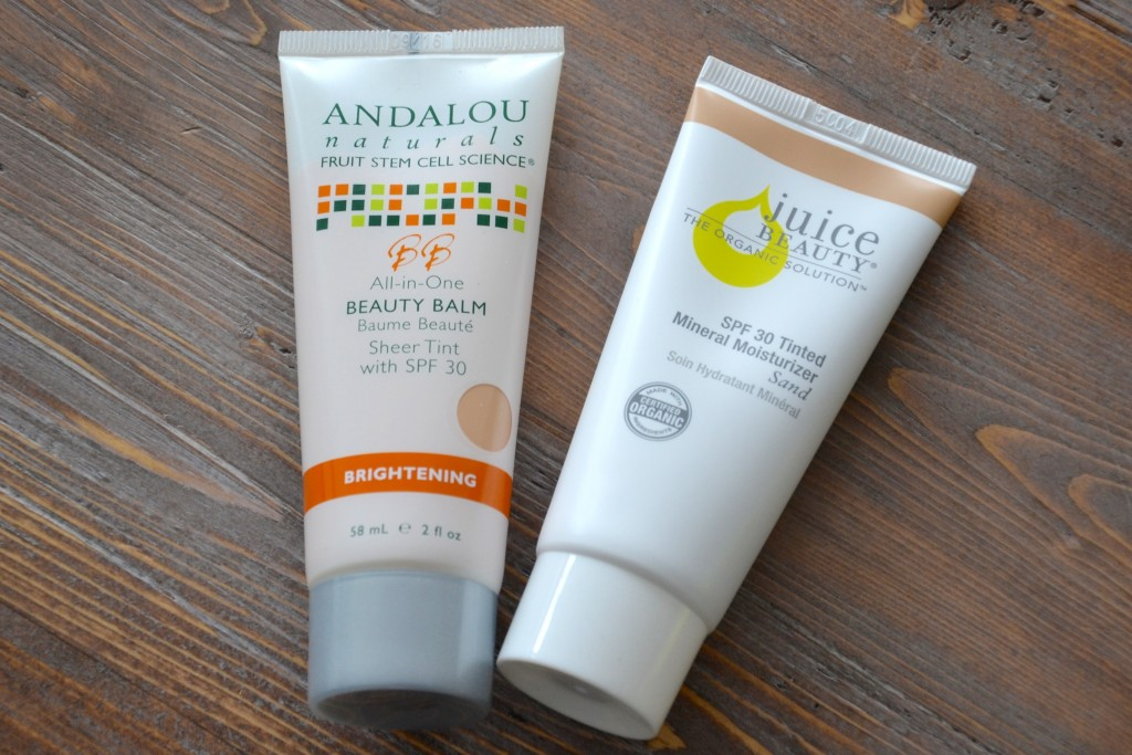 BB Cream Juice Beauty vs Andalou