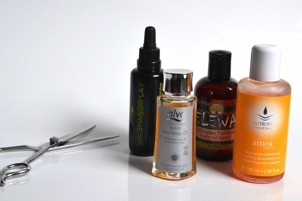 naturkosmetik gedanken und Öle