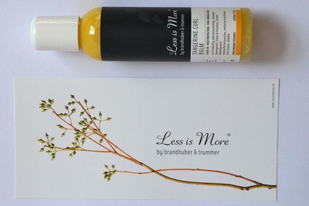 Less is more tangerine curl balm -3