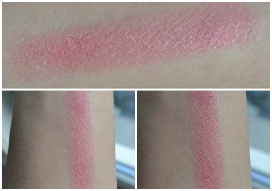 Lip Balm Color Kiss soft red swatches