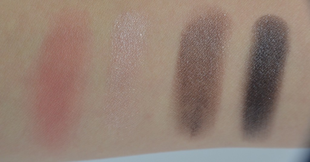 Couleur Caramel  Golden 20s Make-up Kit swatches