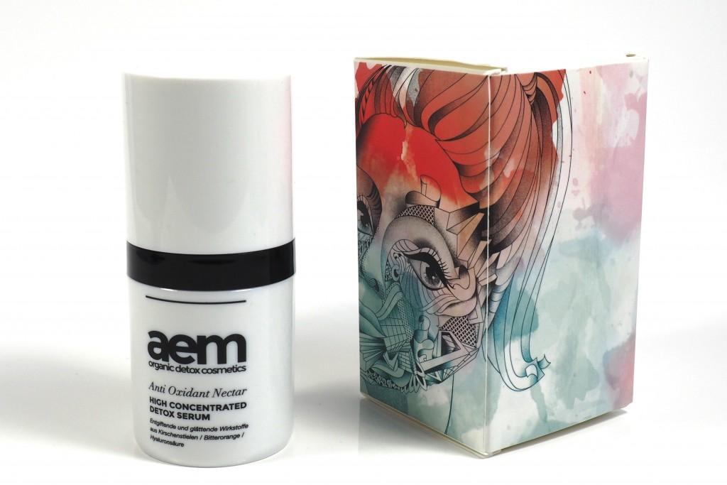 Aem organic detox cosmetics Serum