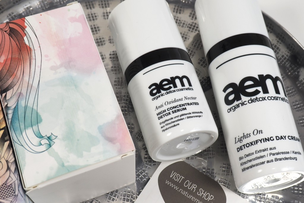 Aem organic detox cosmetics - Review