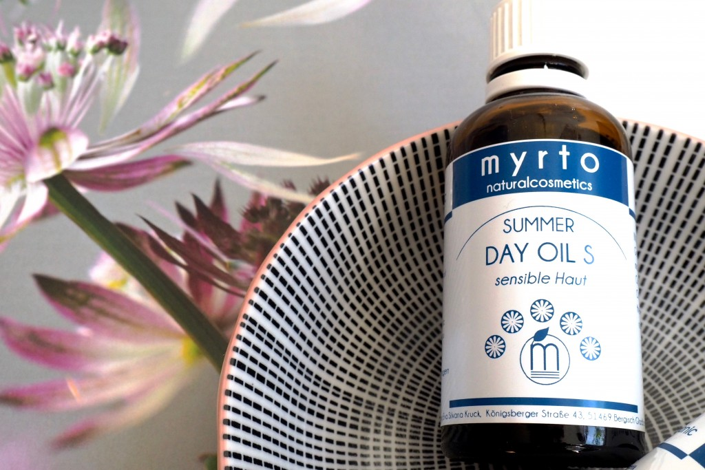 Myrto Naturalcosmetics Summer day Oil - LSF