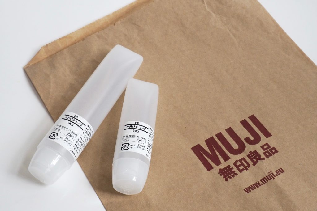 Muji Cosmetics Travel