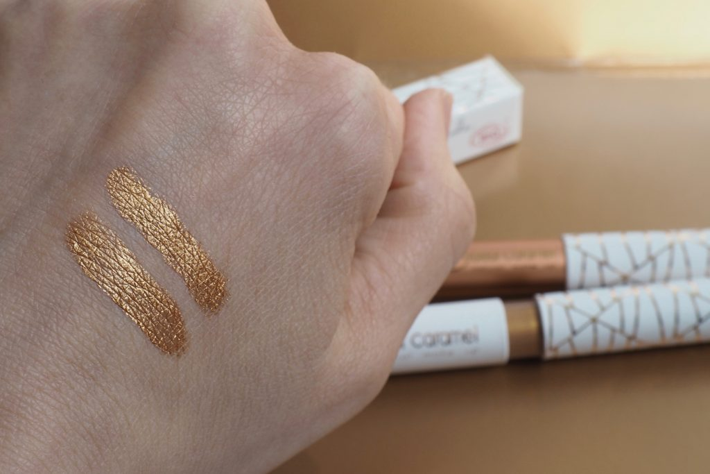 Couleur Caramel Zanzibar Palace - Swatches - liquid Eyeshadow