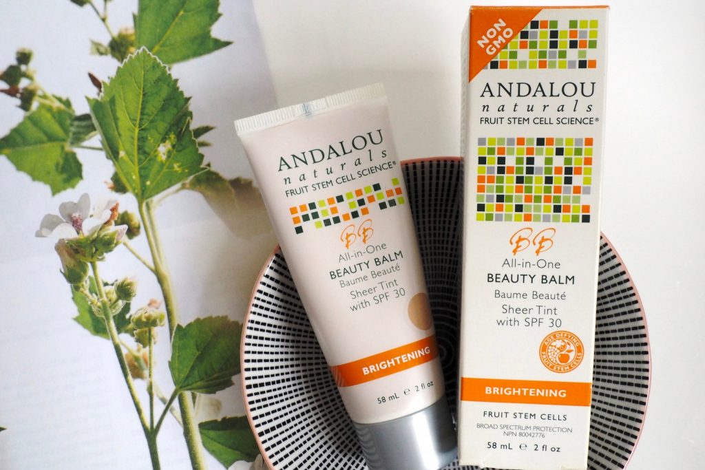 Andalou Natural Beauty Balm Brightening