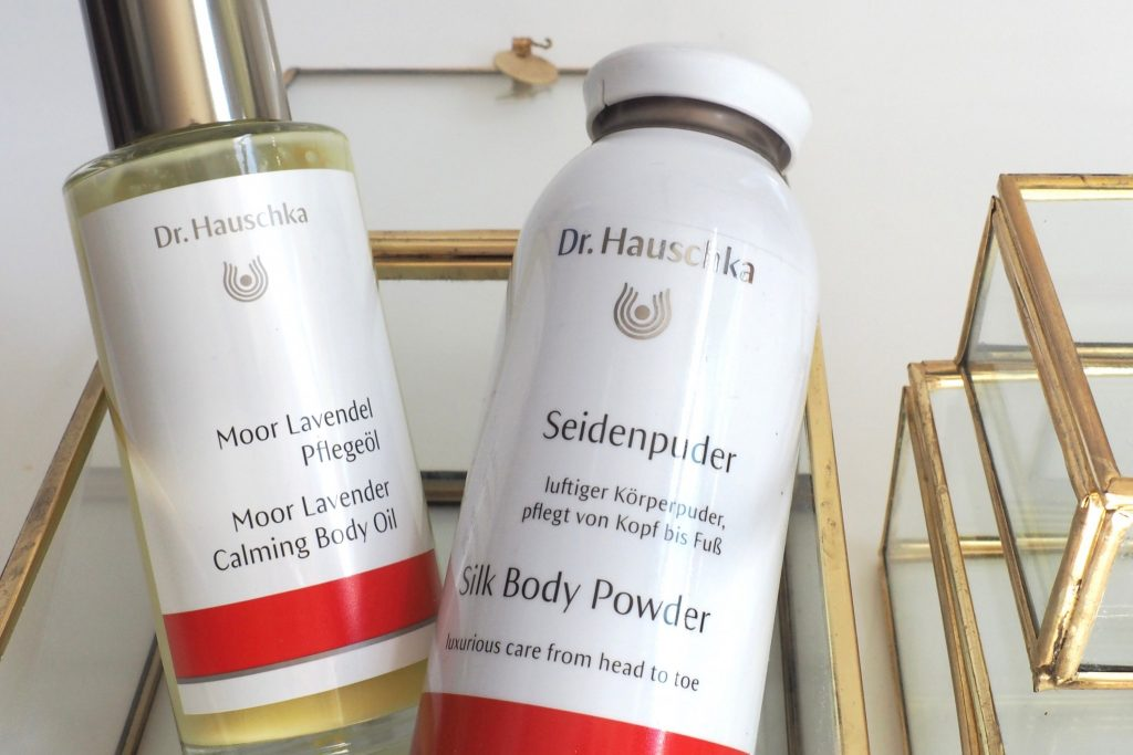 Dr.Hauschak Körperpuder und Moor Öl