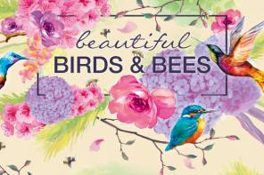 Beautiful Birds and Bees <br /> die neue Limited Edition von alverde