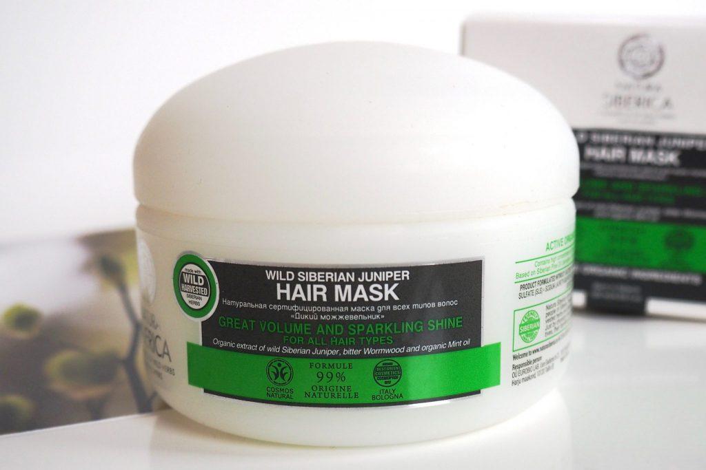 Natura Siberica Wacholder Haarpflege Haarmaske - 5
