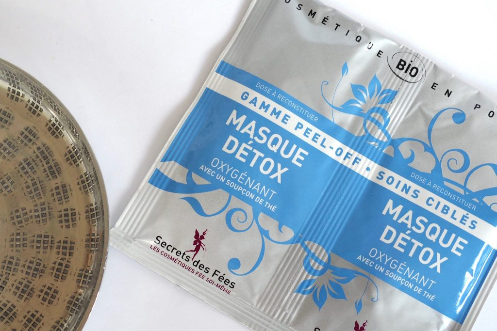 Secrets des Fees Peel off Mask - wasserlose Kosmetik 3