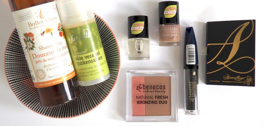Naturkosmetik Nagellack Shampoo und Bronzer
