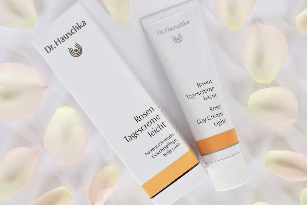 Erfahrung fettfreie Nachtpflege mit Naturkosmetik Dr.Hauschka - 2