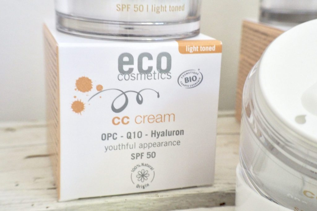 Review EcoCosmetics CC Cream SPF 30 SPF 50 - 7