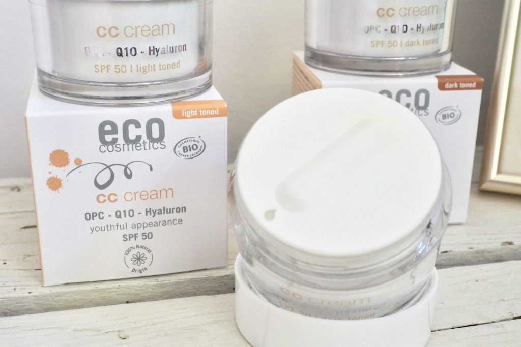 Review EcoCosmetics CC Cream SPF 30 SPF 50 - 5